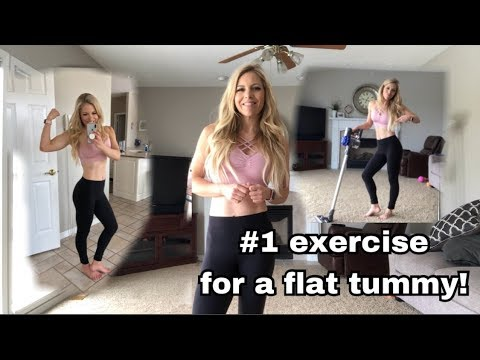 The #1 best exercise for a flat tummy!