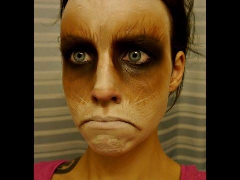 Halloween 2014 Series : Grumpy Cat Face Paint