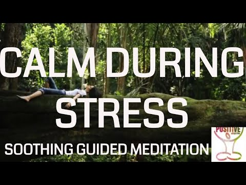 Instant Calm During Stressful Situations  Not Getting Stuck in Negative & Meltdown 10 Min Meditation