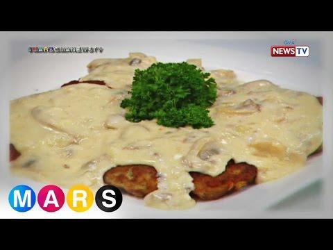 Mars Masarap: Burger Steak in Mushroom White Sauce