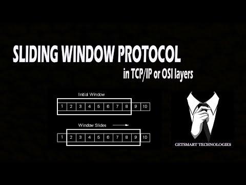 Sliding Window Protocol in TCP and OSI layers   Getsmart Technologies   Ganesh