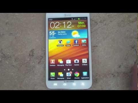 Samsung Galaxy Note Android 4.0 Ice Cream Sandwich Walkthrough