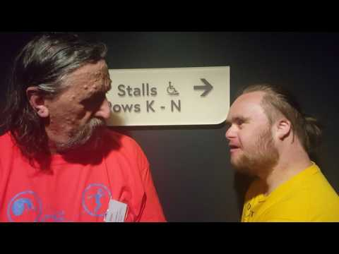 Fionn interviews Andy Stafford at Creative Minds North Conference