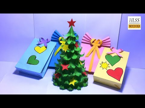 How to make Christmas tree with paper | DIY origami Xmas tree paper| diy christmas decorations