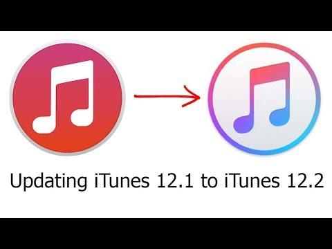 Updating iTunes 12.1 to iTunes 12.2: Tabs / Album Artwork /New Logo