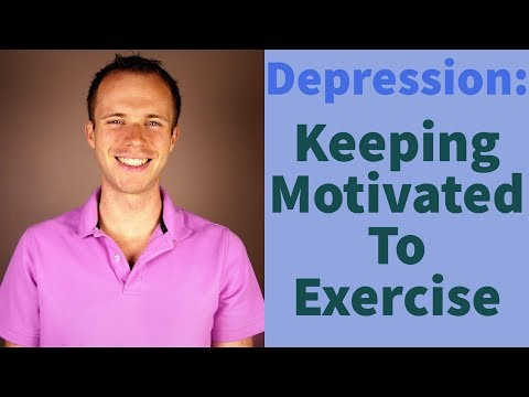 Depression Tips: Staying Motivated To Exercise When Depressed, Sad, Or Worried (MHM Ep. 19)