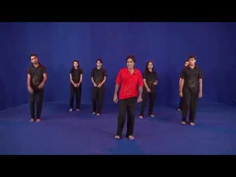 how to learn gujarat's famous Garba (24 steps dvd) : Egarba Tutorial with Irfan: Payal Step HD