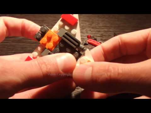 Lego Creator Set 30020 of a Jet Plane Build & Review in HD