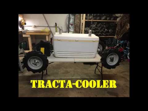 Tracta-Cooler Frame Build