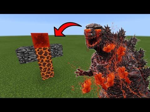 How To Spawn GODZILLA.EXE in Minecraft PE
