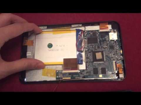 trekstor surftab breeze 7.0 teardown Innenleben Ausbau tablet