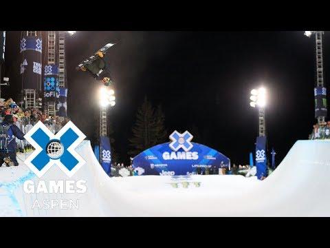 Men's Snowboard SuperPipe: FULL BROADCAST | X Games Aspen 2018