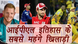 IPL 2017: Here the most expensive players in tournament