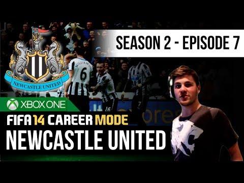 FIFA 14 Xbox One   Newcastle United Career Mode - S2E7 - 90th Minute Winner!