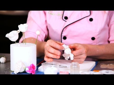 How to Add First Layer of Peony Petals | Sugar Flowers