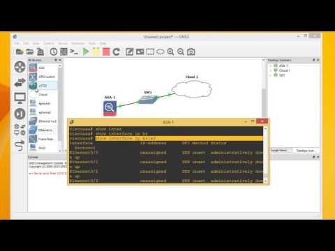 Alphorm.com | Cours GNS3 | Configuration de Cisco ASA