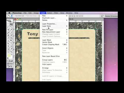 Apple mac Mail stationery tutorial part 1