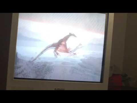 Riding revered dragon in skyrim :D