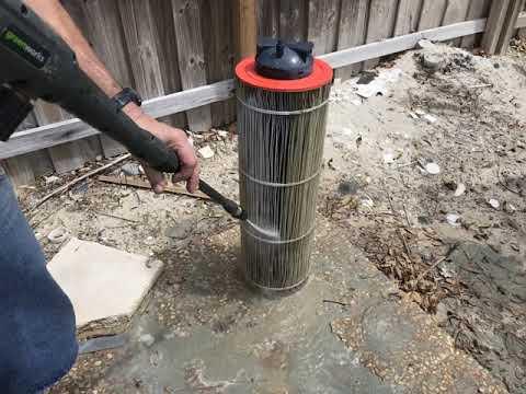 Acid Wash & Pressure Wash Pool Filter