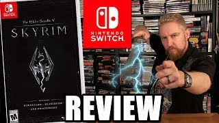 SKYRIM SWITCH REVIEW - Happy Console Gamer
