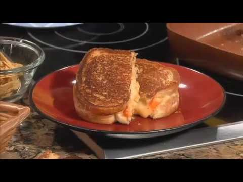 The Food Hussy makes a delicious grilled cheese