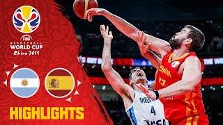 Argentina v Spain - Full Game Final Highlights - FIBA Basketball World Cup 2019