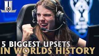 Download The 5 Biggest Upsets in Worlds History   2019 Lol esports Video