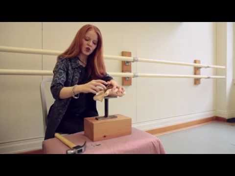 Episode 1: Pointe Shoe Shanks - how to 3/4 cut a shank