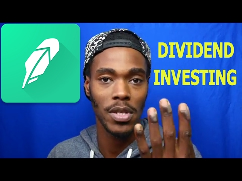 What Is a Dividend? How To Make Money Off Of The Dividends! RobinHood App