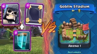 Clash Royale | GIANT SKELETON + CLONE TROLLING ARENA 1! | *FUNNY MOMENTS* (Drop Trolling #32)