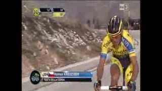 Tirreno Adriatico 4 tappa dallo scatto di Quintana  1,7km