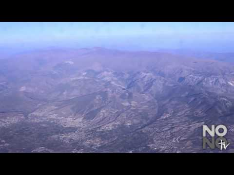 Flying from Malaga to Morocco :: The Mountains of Spain