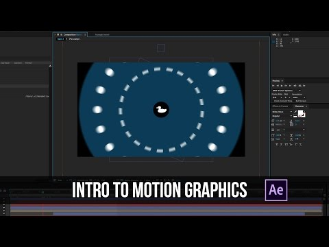 Intro to Motion Graphics - After Effects Tutorial