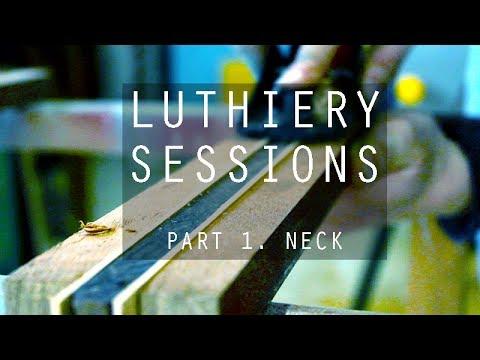 Making electric guitar neck blanks - GF Guitars inside workshop PT.1