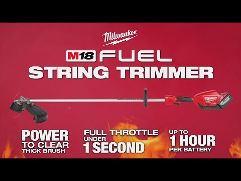 Milwaukee® M18 FUEL™ String Trimmer: Easy Load Trimmer Head Line Replacement