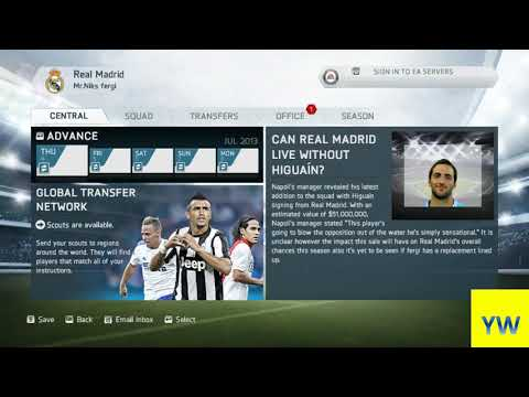 EA sports fifa14 -15 transfer glitch - buy player for free