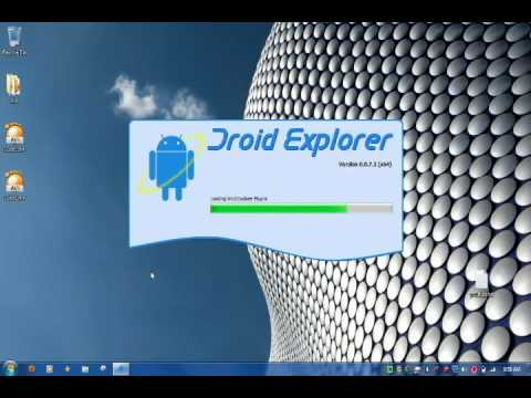 ANDROID Controlled from PC (How-To Remote Control ANDROID Phone)