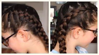 French Braid Tutorial Step By Step Regular And Dutch Davis Does