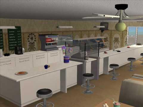 Sims 2 Marina Bay Cafe