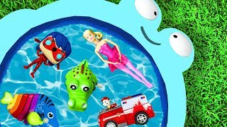 Learn Characters with Pj Masks, Paw Patrol, Barbie, Disney Princesses and Animals for Toddlers