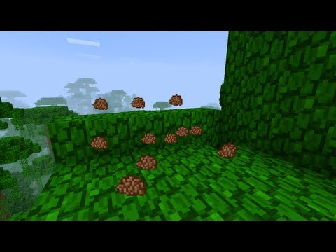Minecraft How To Find Cocoa Beans