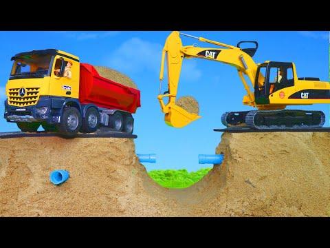 Xxx Mp4 Pelleteuse Camion à Ordures Camion De Pompier Voiture Excavator Toys 3gp Sex