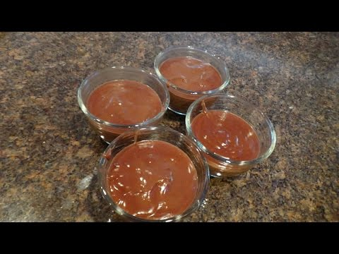 Low Carb Chocolate Pudding