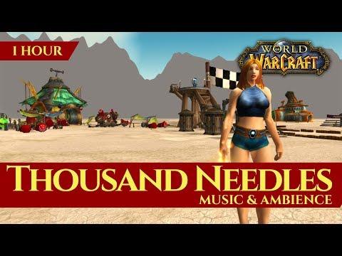 Vanilla Thousand Needles - Music & Ambience (1 hour, World of Warcraft Classic)