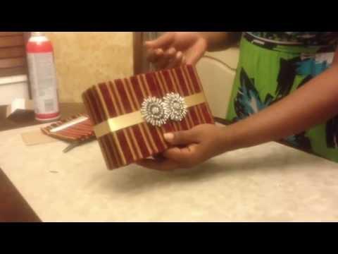 DIY: Box Invitation Tutorial