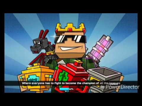 Playing PixelGun3D for the first time