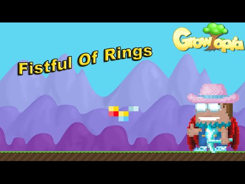 Growtopia - GameGuyDK Gets Fistful Of Rings!