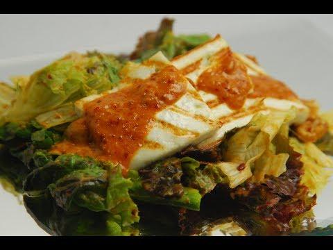 Grilled Paneer Salad With Garlic Confit | New Season | Cooksmart | Sanjeev Kapoor Khazana|