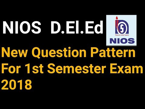 NIOS dled new question pattern