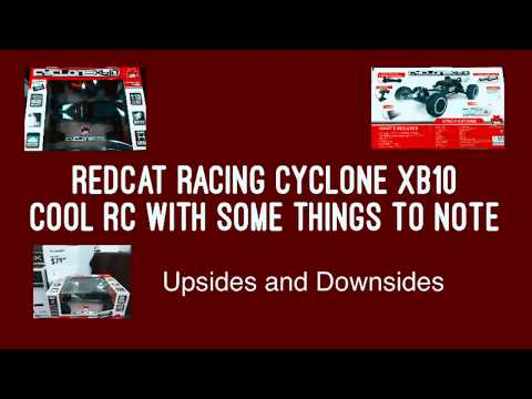 Redcat Racing Cyclone XB10 - 1/10th RC - The Good + Some Defects to Note